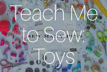 Teach Me To Sew: Toys