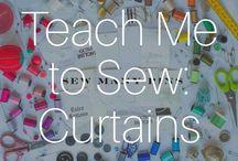 Teach Me To Sew: Curtains