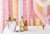 Engagement Party Ideas / Celebrate your newly-engaged status with one of these party-worthy ideas for decor, dessert, and more!