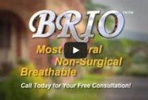Brio Hair System / Brio is the most natural, non-surgical hair system available in the world. Brio is so light, so transparent, so breathable, that Brio clients will experience the most revolutionary development in hair restoration available only at Hans Wiemann.