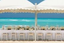 Beach Wedding Venues / A beach wedding is a unique and exciting way to get married. Discover the latest beach wedding trends on everything from wedding colors, themes, and decorations.