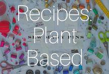 Recipes: Plant Based