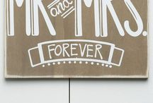 Wedding - Signs / by Cathy Winn
