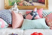 Pillow Ideas / by Kelley Anne Miner