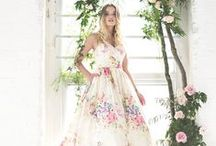 Colored Wedding Dresses, Evening Gowns & Cocktail Dresses / All the colors of the rainbow. / by Wedding Inspirasi