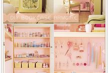 oh i want these craft rooms / great ideas for organizing and creating a nice beading studio.
