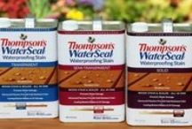 In Store / Thompson's WaterSeal has a complete line of cleaners and waterproofers to protect your deck, fences and more. / by Thompson's WaterSeal
