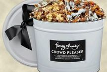 Funky Chunky Gourmet Chocolate Popcorn and Pretzels / All things chocolate drizzled lovingly over popcorn or pretzels. #yum #funkychunky