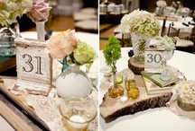 By the Numbers (or Not) / Fun ideas for labeling reception tables / by Your Wedding Muse