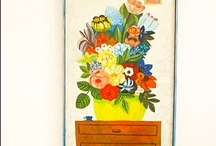 Florals in interior design / by Flower Empowered