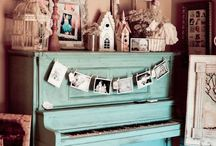 Projects - Pianos / by Cathy Winn