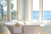 Bathing Beauty / Beautiful bathrooms.