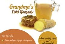 Grandma's Home Remedies / Ingredients from your own kitchen, that can help cure a lot of ailments and make life easier... as Grandma knows best!