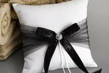 Weddings - Black and White / Black and White Wedding Details