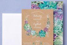 Invitations + Greeting Cards / Wedding invites, save the dates, party invitations, greeting cards + other bridal stationery items / by Wedding Inspirasi