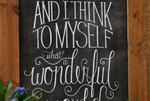 Art - Blackboard Ideas - MISC. / by Cathy Winn