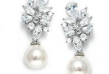 Wedding Jewelry / #weddingearrings #weddingnecklaces #bridaljewelry