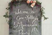 Let's Party! /  Fun and fab stuff to jazz things up! / by Wedding Inspirasi