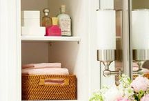 Getting Organized / Tips and Ideas for Home Organization