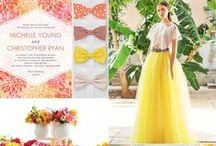 Wedding Themes / Bridal color palettes, mood boards and style inspiration for your wedding.