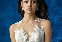 Illusion Necklines / Wedding dresses with illusion (sheer) necklines.
