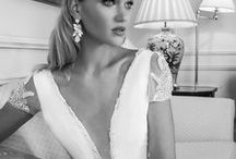 V-Necklines / V-neck wedding dresses.