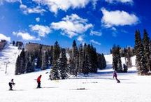 Family Ski Travel / Family ski travel offers a perfect combination of wellness and adventure for the whole family! Here are a few of my favorite ski destinations plus a few bucket list ski resorts.