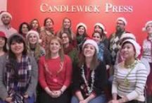 Twelve Days of Candlewick! / Titles featured in the 12 Days of Candlewick holiday music video! #12DaysofCandlewick  Happy holidays from the staff of Candlewick Press!