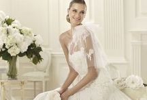 One-Shoulder Necklines / Wedding dresses with asymmetric or one-shoulder necklines. / by Wedding Inspirasi