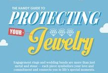 Jewelry Tips with Jewelers Mutual / Practical tips on how to keep your rings, necklaces and other valuables safe and why it is important to insure your precious jewelry. / by Wedding Inspirasi