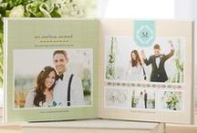 Photos: Albums, Books & More / Wedding photo books, albums, guestbooks & other ideas to use your wedding photos.