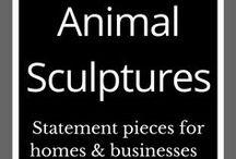 Animal Sculptures / Animal sculptures | Steel sculptures | Metal art | Outdoor sculptures | Corten steel sculptures | Backyard art | Abstract metal sculpture | Garden art and ideas | Garden inspo | Melbourne artist | Home and garden design |