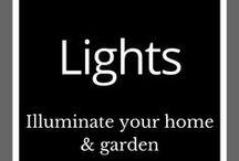 Lighting - Sculptures & Inspiration / Outdoor lighting | Garden inspiration | Backyard lighting | Landscape ideas | Garden art | Outdoor living | Outdoor sculpture metal | Garden art