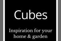 Cubes Sculptures / Garden ideas | Backyard art | Metal art | Outdoor ideas | Cube art | Cube sculpture | Home & garden design | Outdoor inspiration
