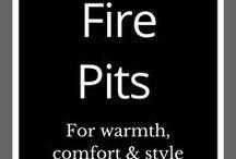 Backyard Fire Pits / Garden | Fire | Backyard fire | Firepit | Outdoor fire pit ideas | DIY fire pit | Garden art | Garden design |