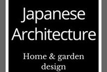 Japanese Architecture & Design / Japanese architecture | Japanese designs | Home ideas | Garden ideas | Interior design inspiration | Japanese garden |