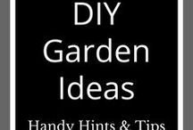 DIY Garden Ideas / Easy DIY gardening ideas, hints, tips and inspiration for your backyard or outdoor living space.