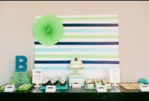 First Birthday Parties / First birthday party ideas, inspiration and DIY projects.