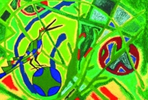 Journey to Abstraction / Abstract/Cubism Painting / by Terri Irvin