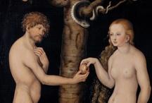 Art: In the Garden / Adam, Eve & the Serpent / by Terri Irvin