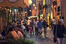 """FROM ROME WITH LOVE / Why we love Rome? Because of the food and wine, the old Roman ruins with their green lizards, the majestic pine trees, its imposing art, the magical atmosphere in Trastevere and last but not least """"La Dolce Vita"""". And all that bouncing in an antique and immortal frame."""