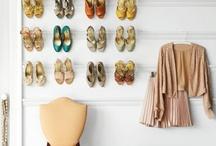 Ideas para guardar nuestros zapatos y otros complementos / Si los zapatos son tus mejores amigos, seguro que tienes un gran problema de espacio para guardarlos todos en tu armario. Aquí puedes ver algunas ideas para almacenar todos tus pares. Y además también recopilamos otras ideas para guardar tus bolsos o tus pinta uñas, ¡toma nota! / by Shoespanish Fashion