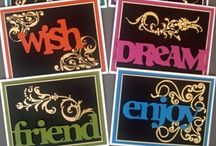 Card Sets & 1 Sheet Wonders / Card Sets & 1 Sheet Wonders / by Doni Rolfson