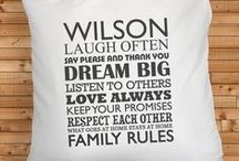 Personalised Gifts / Personalised Home Decor Gift Ideas
