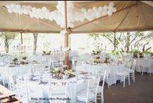 Wedding Table Decor and Draping / Wedding