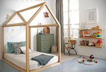 Children's Bedrooms / Bedroom ideas for toddlers, kids and older children.