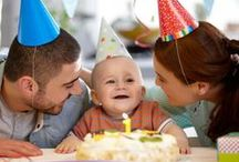 Birthdays!  / Life is meant to be celebrated- here are some ideas on how to enjoy those special moments.