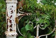 Garden Art, Walls, Gates / by Helen Audirsch