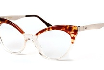The EYES have it!  I love and collect reading glasses of all kinds....mix and match to clothing! / by Helen Audirsch