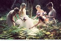 Forest Wedding / A forest wedding is enchanting and romantic.